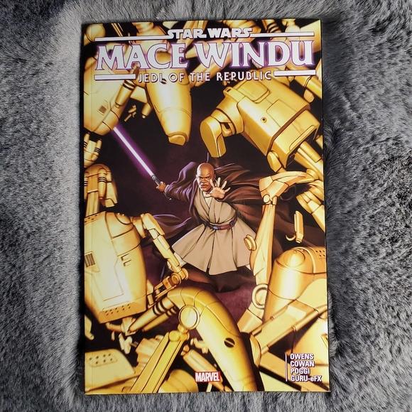 Marvel Disney Star Wars Graphic Novel Mace Windu